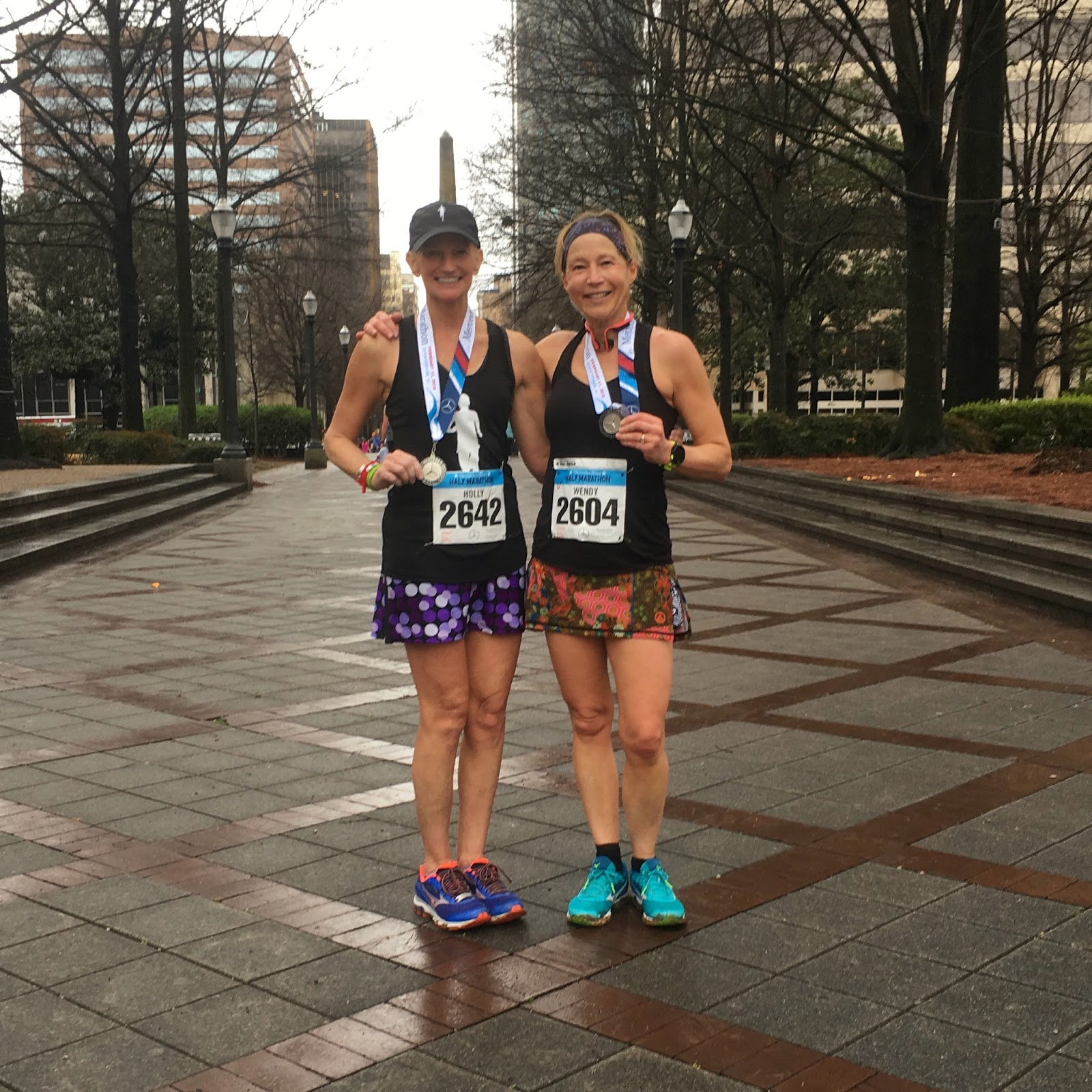 Taking the long way home mercedes half marathon race recap for Mercedes benz half marathon