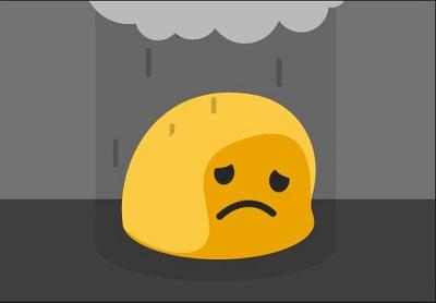 Kaomoji cảm xúc buồn (Sad), Đang khóc (Crying), Suy sụp (Depressed)