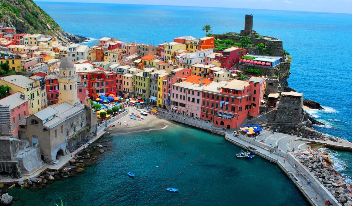 I 10 luoghi più Romantici d'Italia - Le Cinque Terre