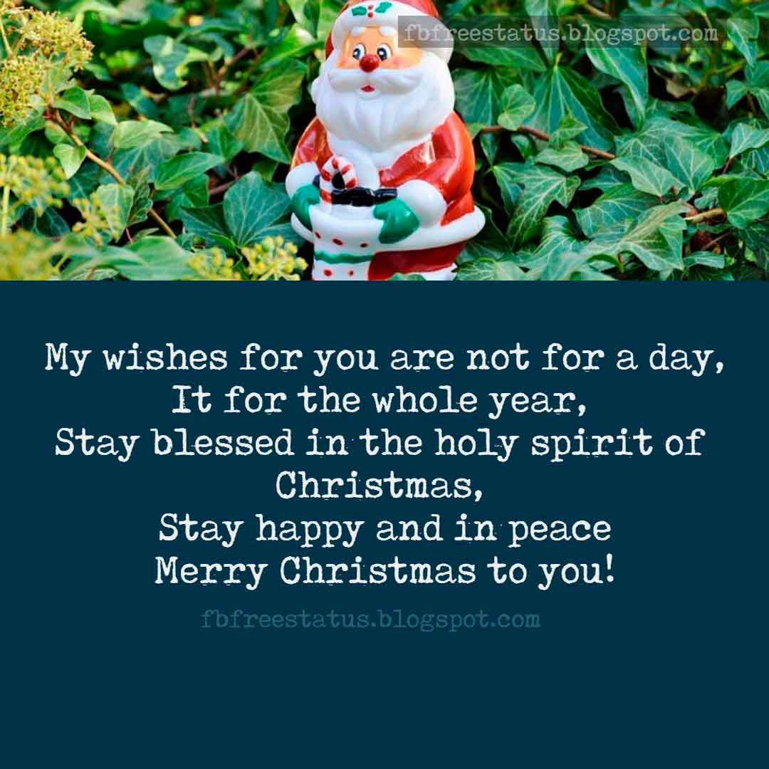 Best Christmas Greetings, Messages