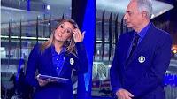 VEJA O VÍDEO: Cristiane Dias sambou na cara de William Waack AO VIVO no Jornal da Globo