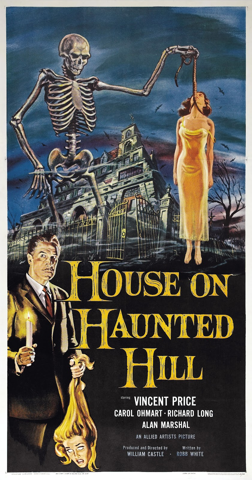 Danger theatre house on haunted hill original hq ws - House on the hill 2012 ...