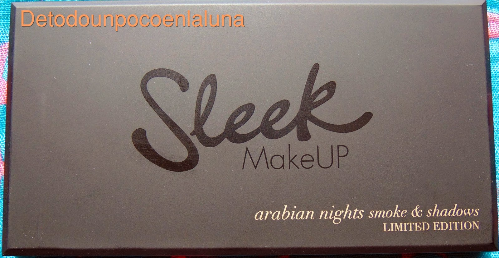 Paleta Arabian Nights de sleek
