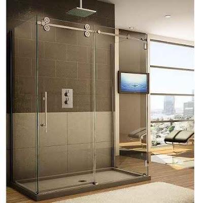 Sliding Glass Door Bathroom