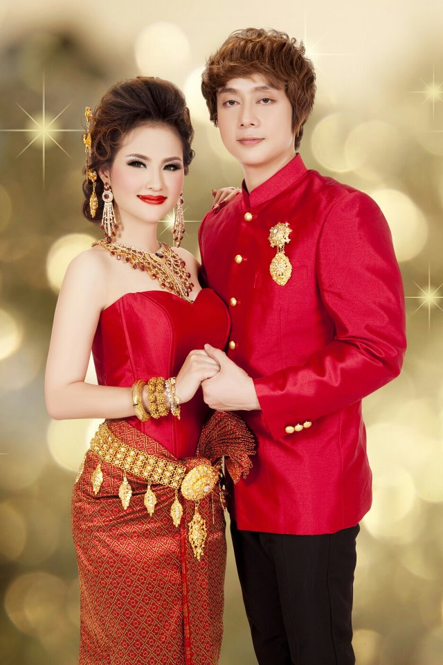 Nop Bayyareth  Sokun Nisa Wedding Dress  Super Star