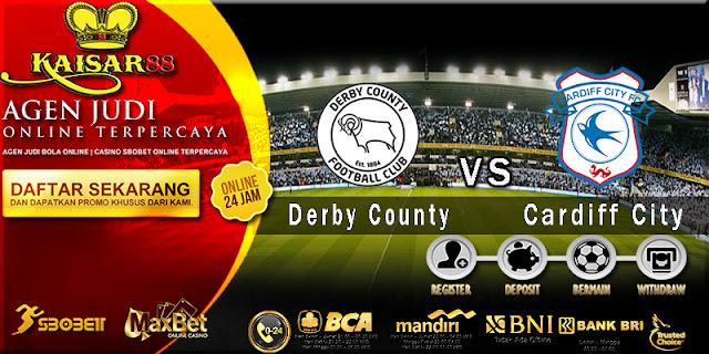 Prediksi Bola Jitu Derby County vs Cardiff City 25 April 2018