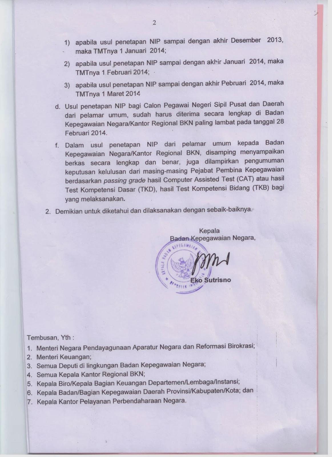 Tes Cpns 2013 Di Ngawi Pusat Soal Cpns No1 Indonesia 2007 2016 Usul Penetapan Nip Bagi Calon Pegawai Negeri Sipil Pusat Dan Daerah