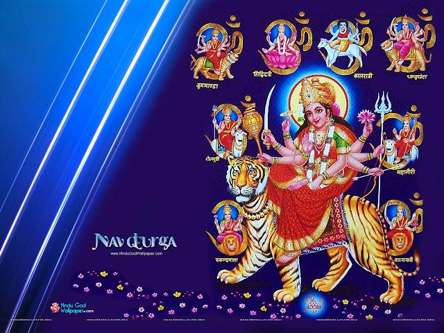 Nav Durga Wallpaper