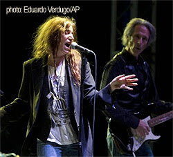Patti Smith en Madrid, Barcelona, Valencia y Cartagena en Noviembre