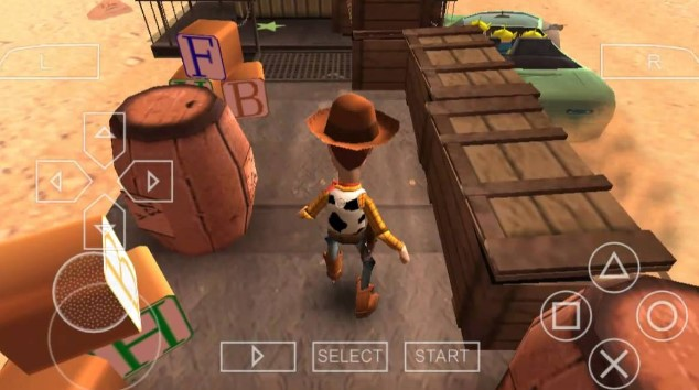 Toy  Story 3 PSP Game Free Download