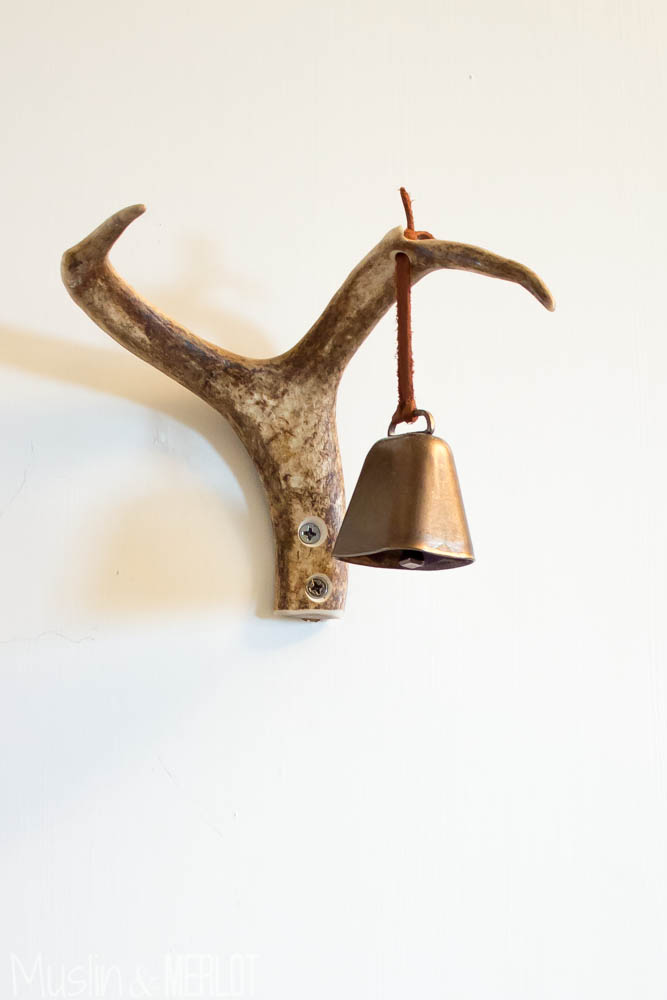 Bachman's Ideas House 2014 Bell and Antler Decor