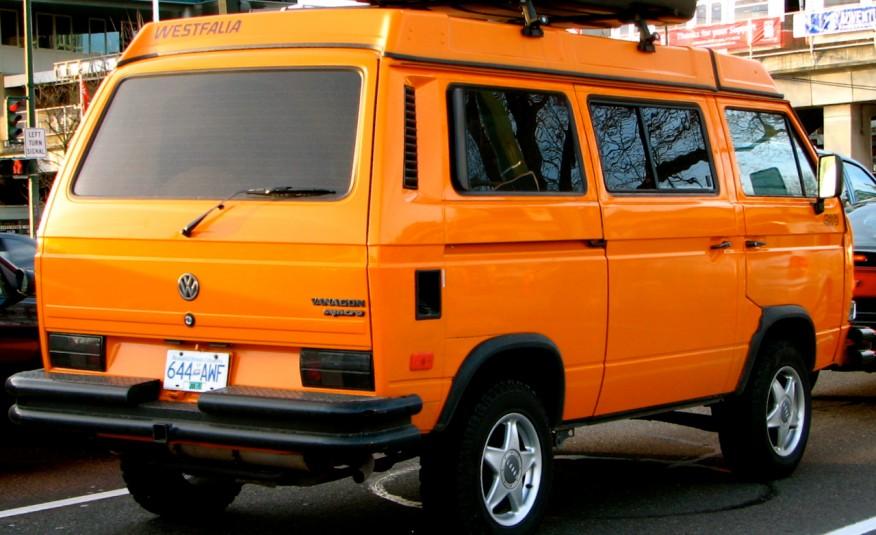 1986–1991 Volkswagen Vanagon Syncro