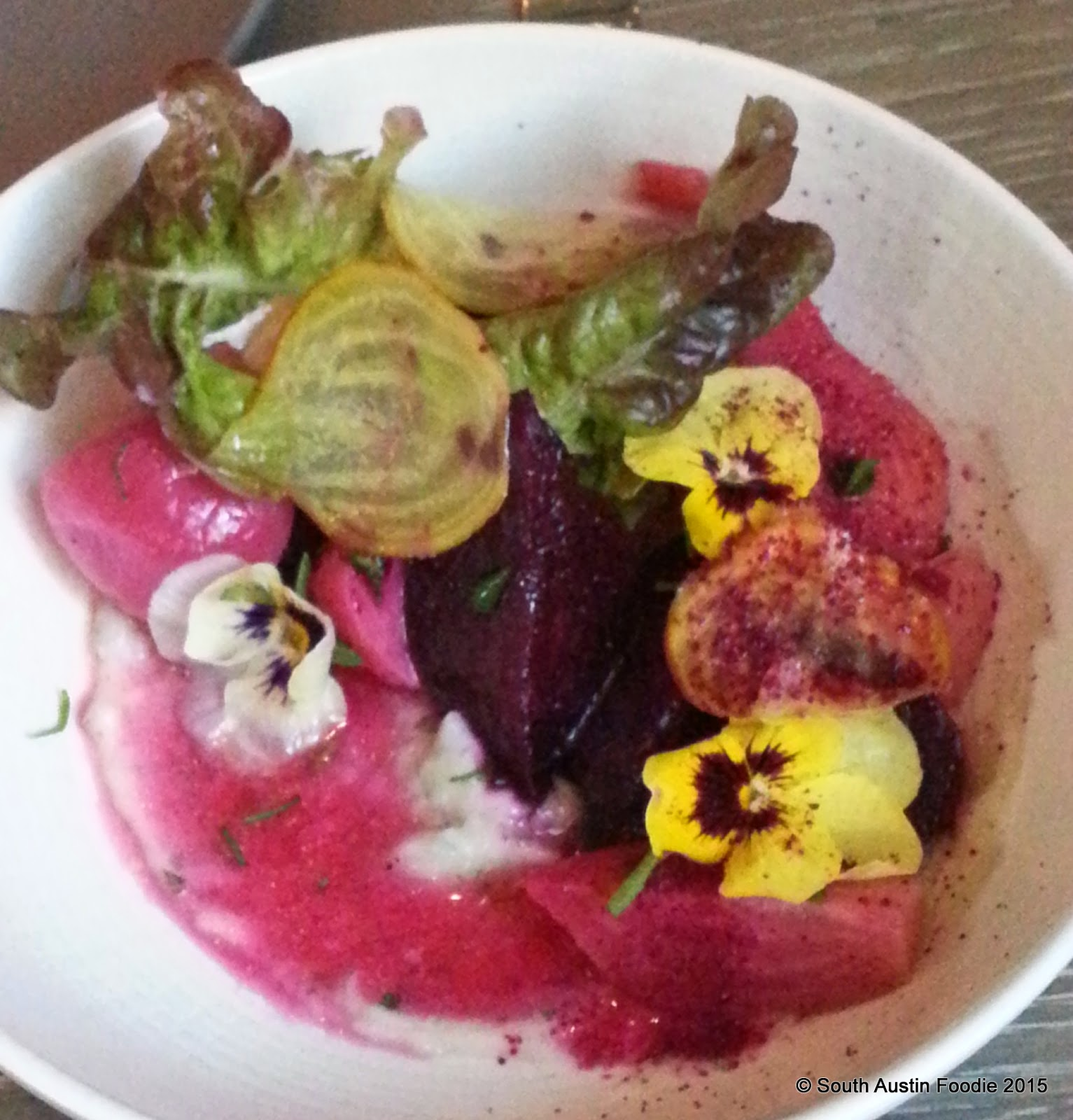 Beets at Olamaie