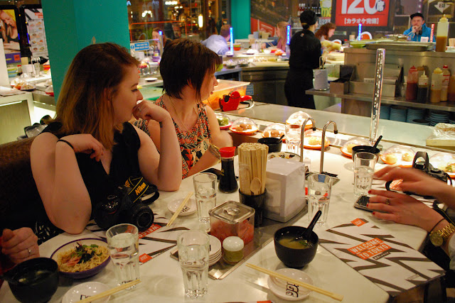 Yo Sushi - Union Square supper safari aberdeen
