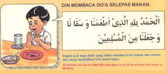 Doa Makan Dalam Bahasa Inggris Dan Artinya