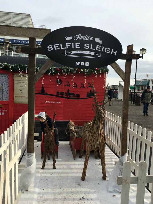 boy-at-Cardiff-Bay-Selfie-Sleigh