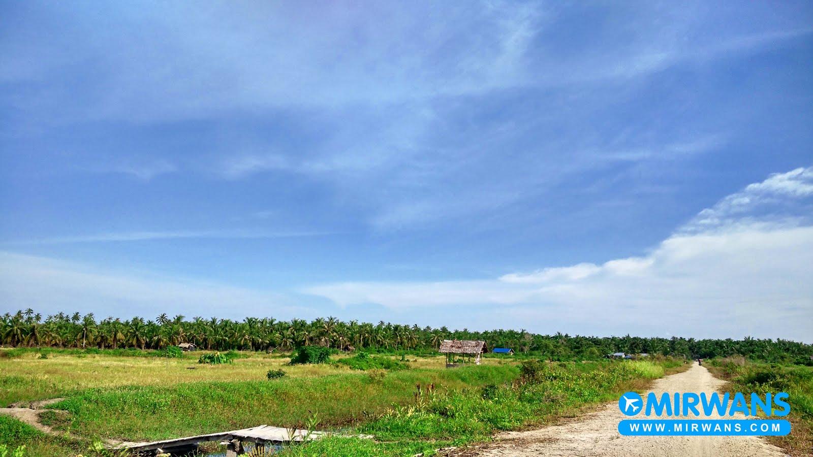 Desa Kedaburapat, Kecamatan Rangsang Pesisir kabupaten Kepulauan Meranti.