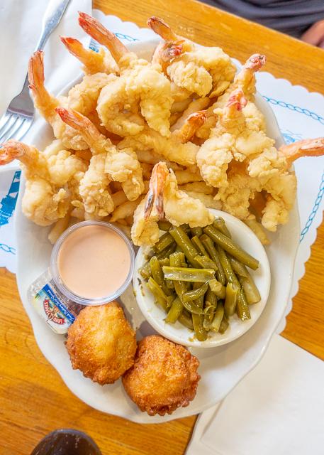 Fried Shrimp - O'Steen's Restaurant - St Augustine FL