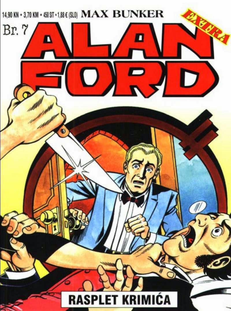 Rasplet krimica - Alan Ford