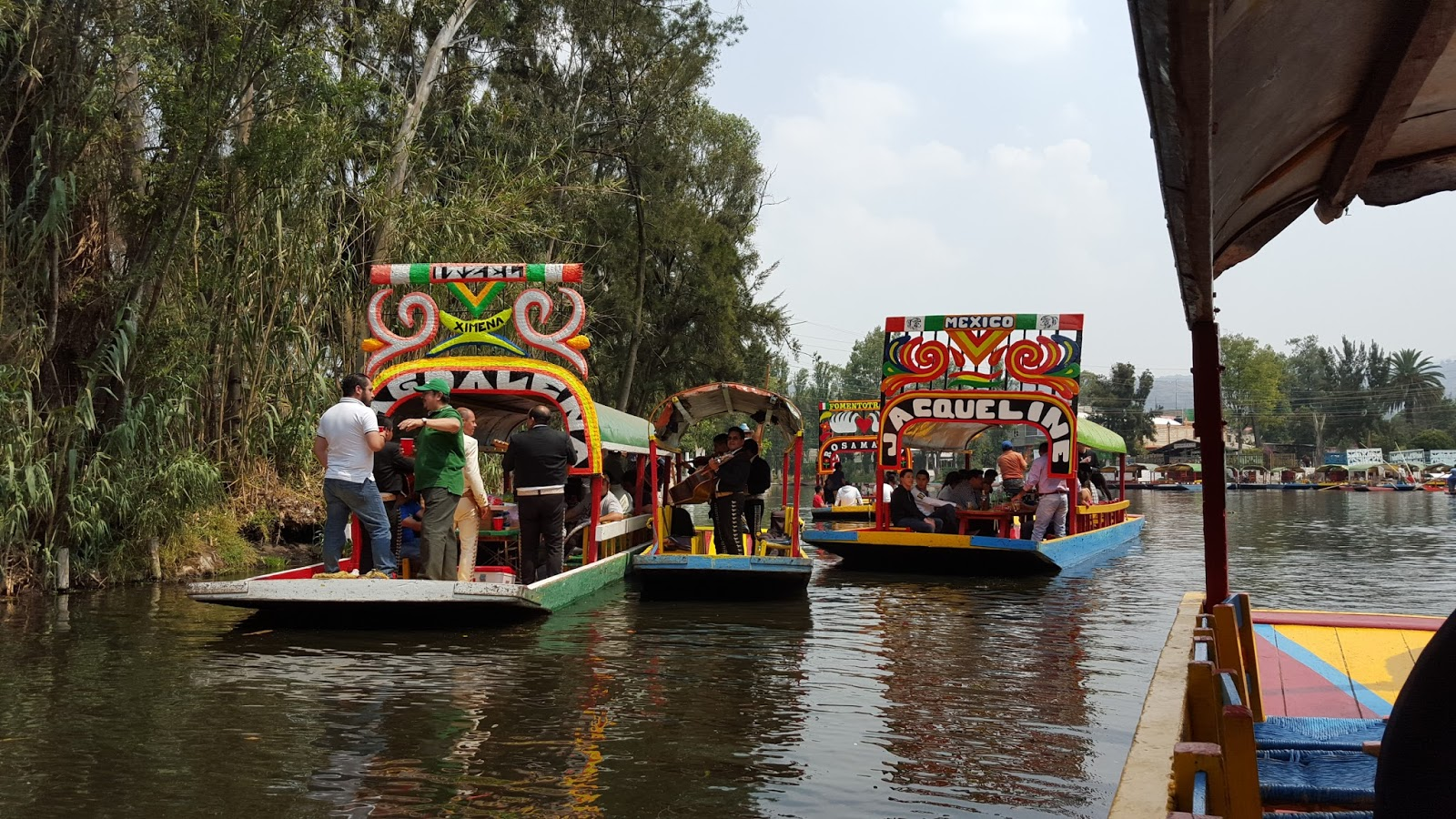 Londinoupolis Xochimilco Floating Gardens Mexico City