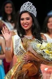Maria Rahajeng ( Miss Indonesia 2014 )