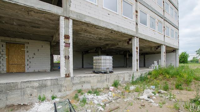 Budowa przy ulicy Inwalidów w Bydgoszczy