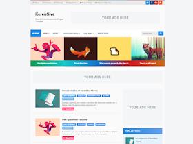 KerenSive - Responsive Blogger Template