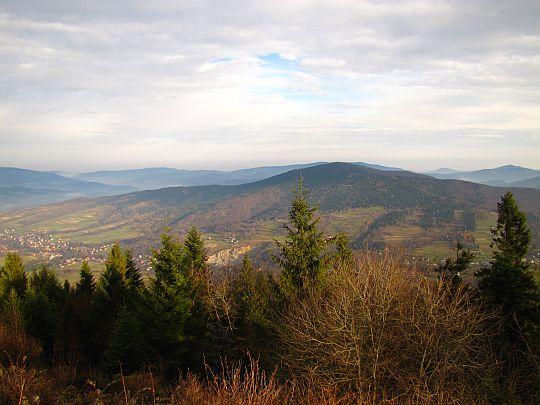 Panorama z Lubonia Wielkiego.