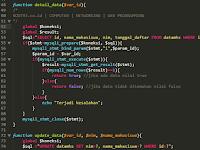 CRUD PHP Procedural Style