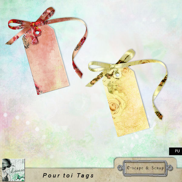 FREEbie #2 - Pour Toi (For You) from Louise L