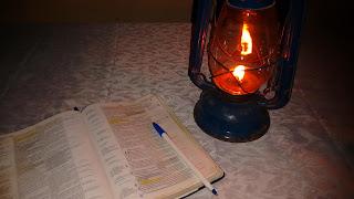 Literatura - Uma noite sem energia