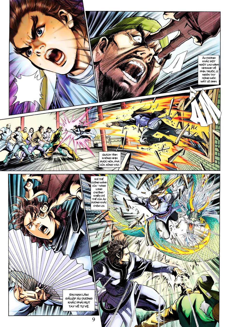 Anh Hùng Xạ Điêu anh hùng xạ đêu chap 35 trang 10