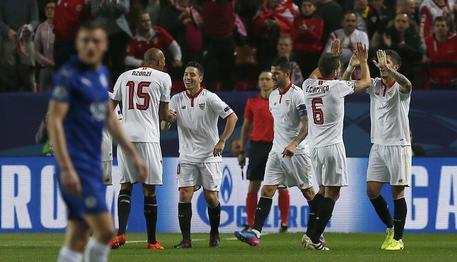 Champions: vince il Siviglia ma Vardy fa sperare il Leicester