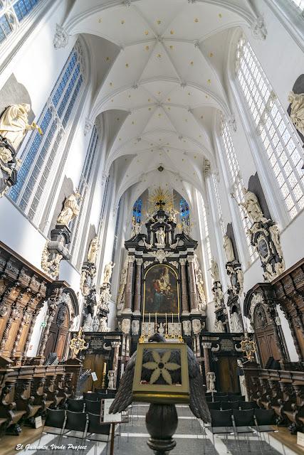 Iglesia de San Pablo - Amberes, por El Guisante Verde Project