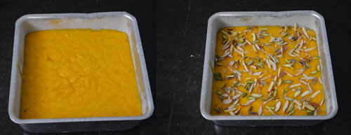 how to make mango cake at home