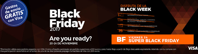 Black Week de PCComponentes 2017