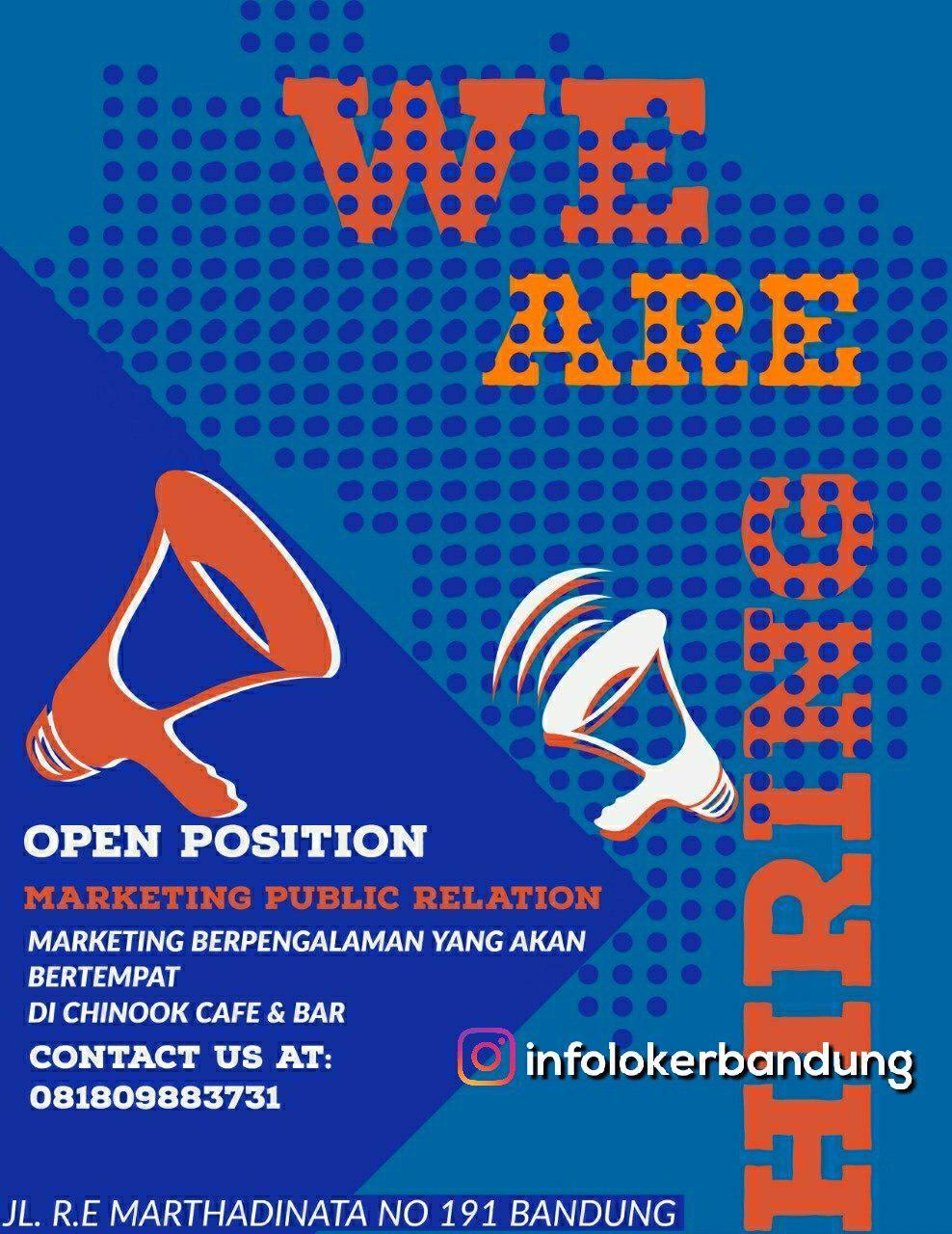Lowongan Kerja Chinook Cafe & Bar Bandung September 2018