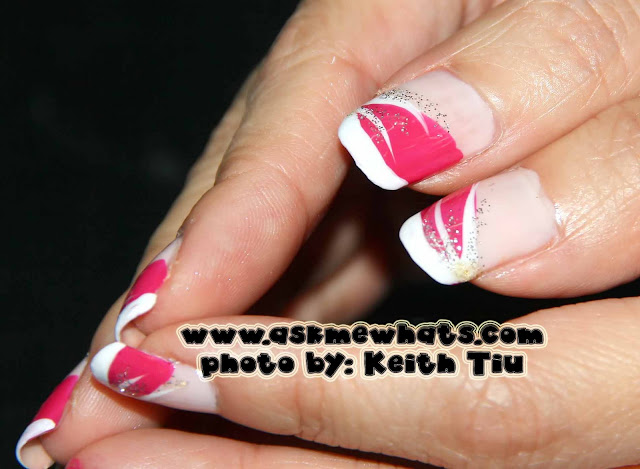 a photo of Valentines Day Nail Art