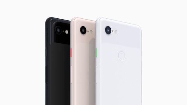 Pixel 3 e Pixel 3 XL