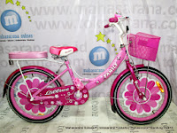 City Bike Family Lilies 20 Inci