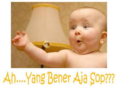 gambar bayi lucu kaget dengan kata-kata
