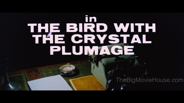 Bird with the Crystal Plumage Title Card