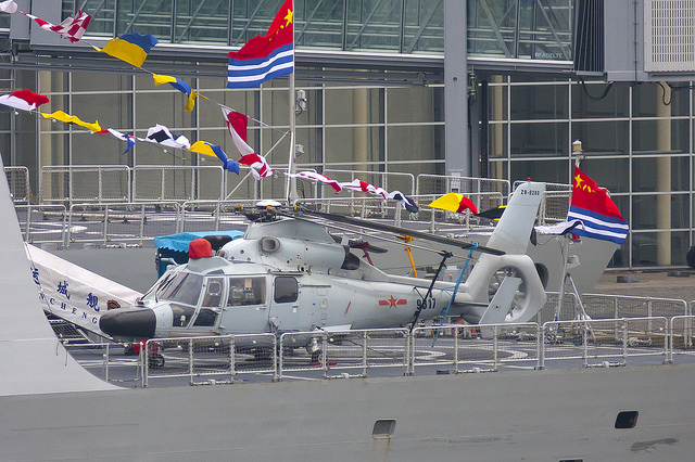 Chinese Harbin Z-9C helicopter