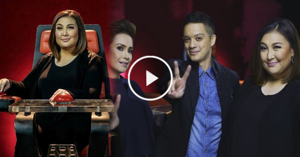 """VIRAL: Sharon Cuneta's chair in """"The Voice Kids"""" malfunctioned!"""