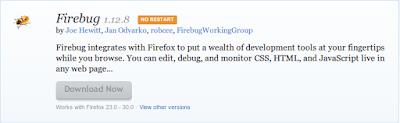 Mozilla Firefox Addons Firebug