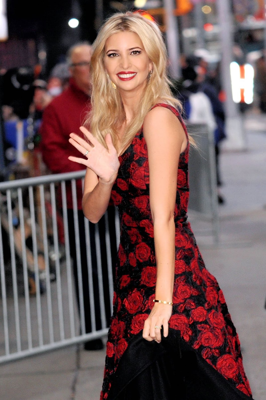 HQ Photos of Ivanka Trump in Hot Red Dress at in New York