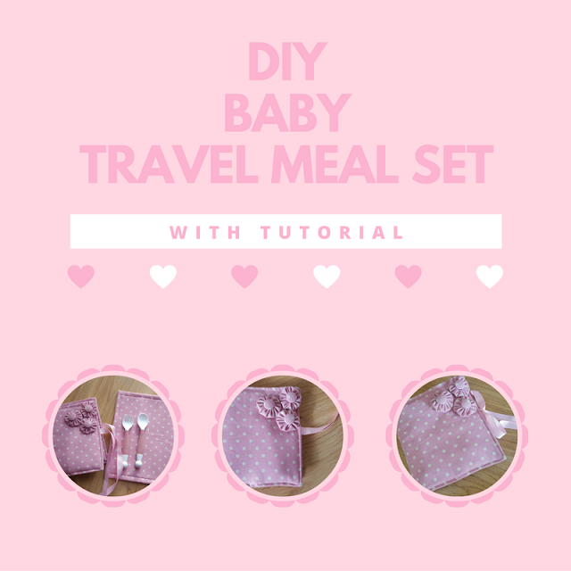DIY baby travel meal set - with tutorial