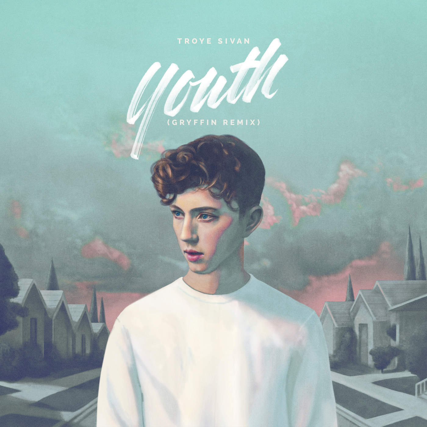 Troye Sivan - YOUTH (Gryffin Remix) - Single Cover