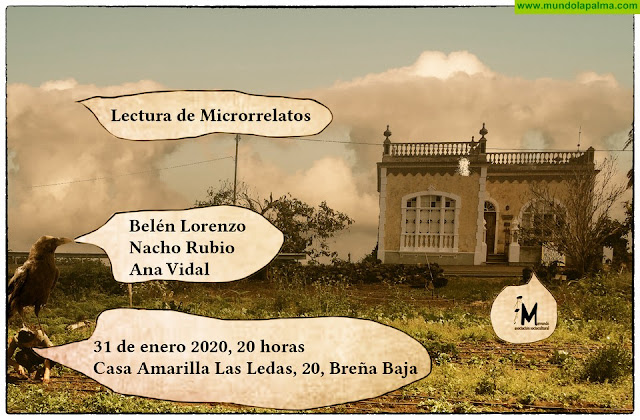 "CASA AMARILLA: ""Lectura de Microrrelatos"""