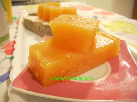 Lasdeliciasdepilar dulce de membrillo r pido - Como preparar membrillo ...
